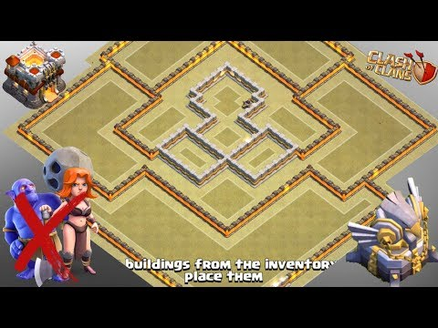 UNBEATABLE TH11 War Base 2018 Anti 1 Star / Anti 2 Star Anti Everything Anti Bowler Anti Valkyrie