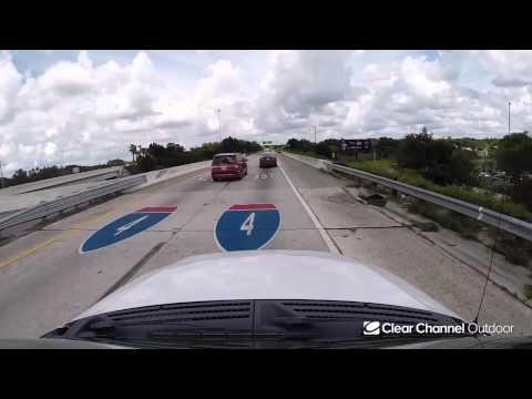 Billboard Video Ride: Digital Bulletin #1: I-75 and US 92