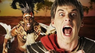 Shaka Zulu vs Julius Caesar.  Epic Rap Battles of History Season 4. thumbnail