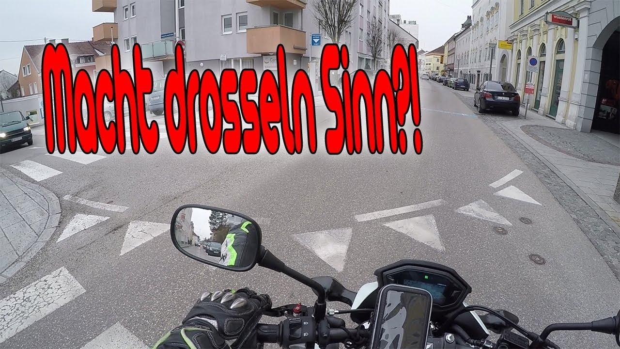 a2 motorrad kaufen oder drosseln youtube