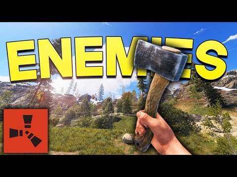 MAKING NEW ENEMIES! - Rust SOLO Survival #2 thumbnail