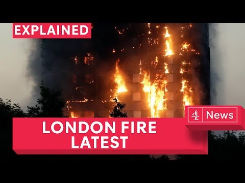 London fire: at least 12 dead after Grenfell tower block sets fire on Latimer Road in London