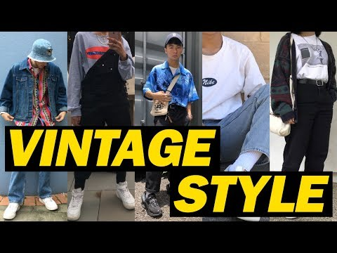TOP 5 VINTAGE STYLE OUTFITS | SICCKFITS