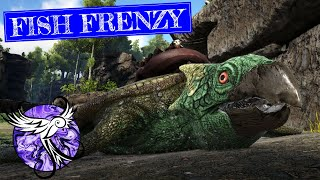 FISH FRENZY | Story Mode - Island EP19 | ARK Survival Evolved
