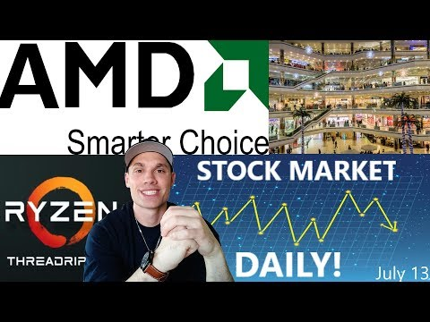 AMD Threadripper news, Retail stocks rally, & more... (SMD)