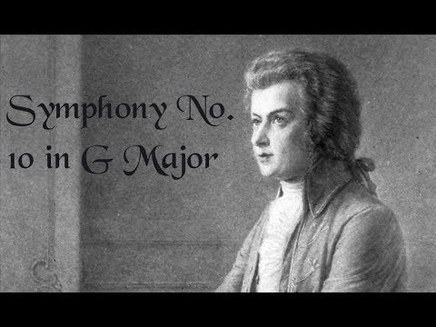 Symphony No  10 in G Major IV Finale by Mozart (Arranged by Sandra Dackow)