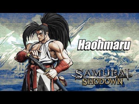 Samurai Shodown's Haohmaru brings his wild, untamed hair to battle