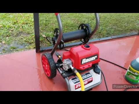 Bauer 2000psi Pressure Washer 56877 From Harbor Freight