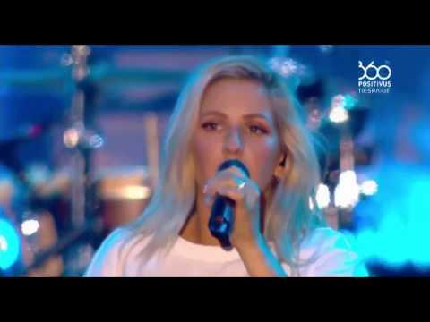 Ellie Goulding - Anything Could Happen (Positivus festival 2017 live)