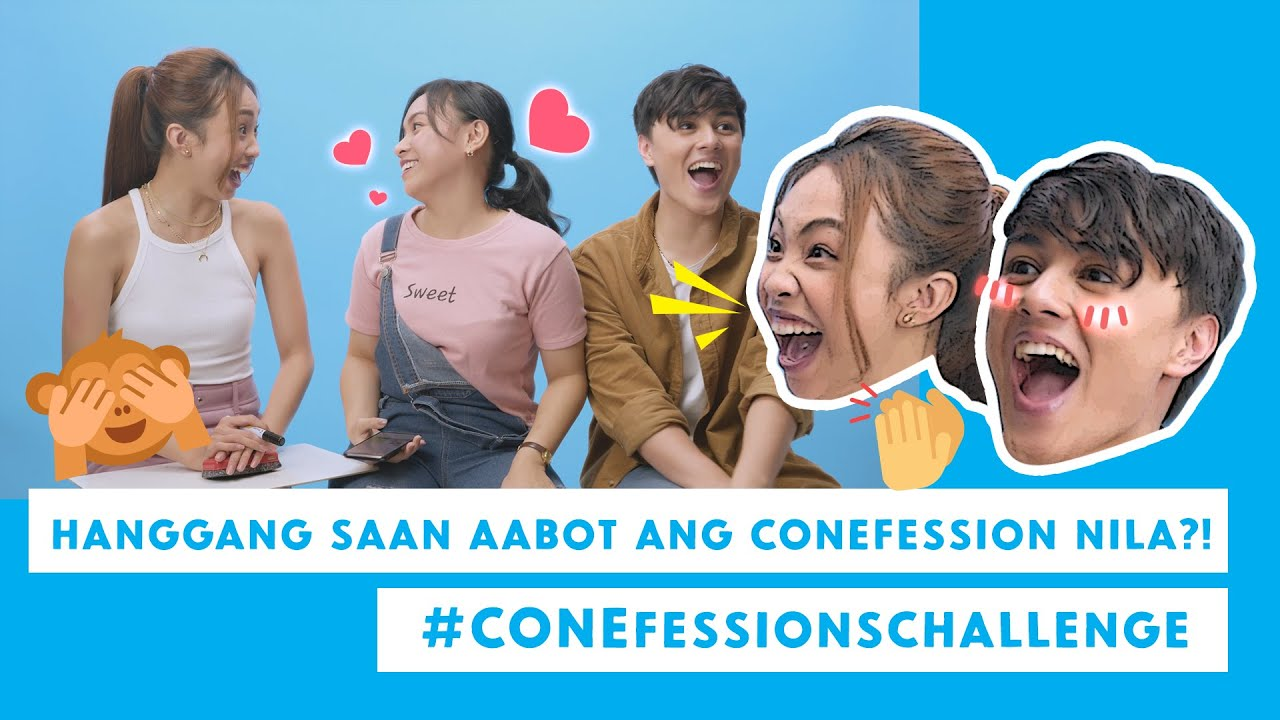 #CONEfessionsChallenge: MayWard helped them CONEfess their feelings!