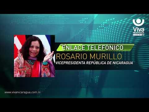 Comunicación Íntegra de la Compañera Rosario Murillo (22 de Marzo de 2018)