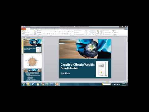 Webinar: Creating solar wealth in Saudi Arabia: update and next steps