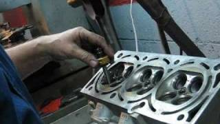 Quick valve job with 3 angle form carbide blades..wmv