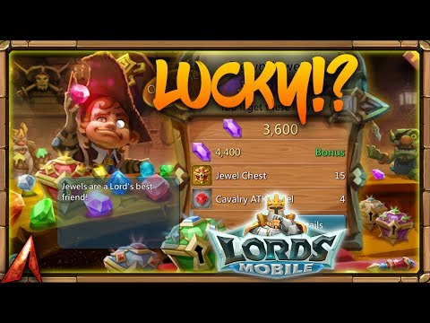 Lords Mobile Jewels MADNESS!