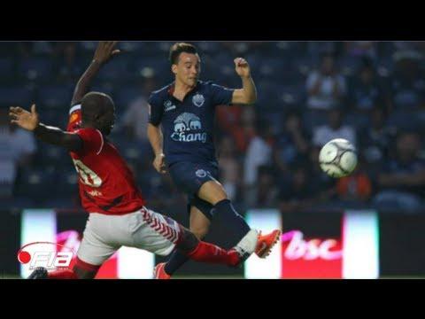 Juan Quero scores a goal on debut for Buriram United V Songkhla United - TPL 2013
