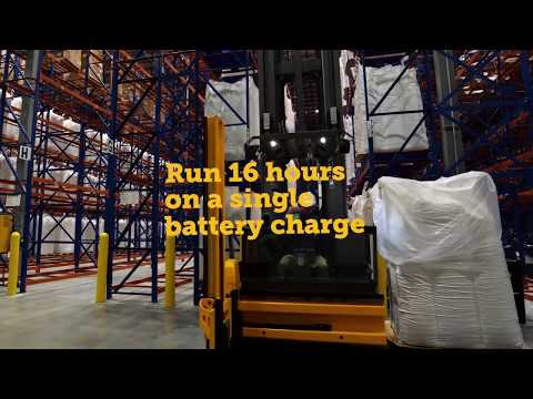 Jungheinrich®: 2 Shifts 1 Charge Guarantee