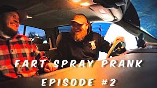 He Throws Up!!! Best Fart Spray Prank Ever!