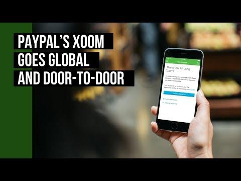 PayPal's Xoom Goes Global And Door-to-Door