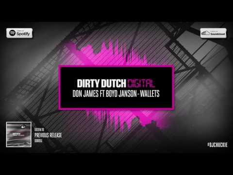 Don James ft Boyd Janson - Wallets   Dirty Dutch Digital 052