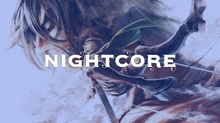 Repeat youtube video Nightcore ❁ Attack on Titans ❁ Opening Theme
