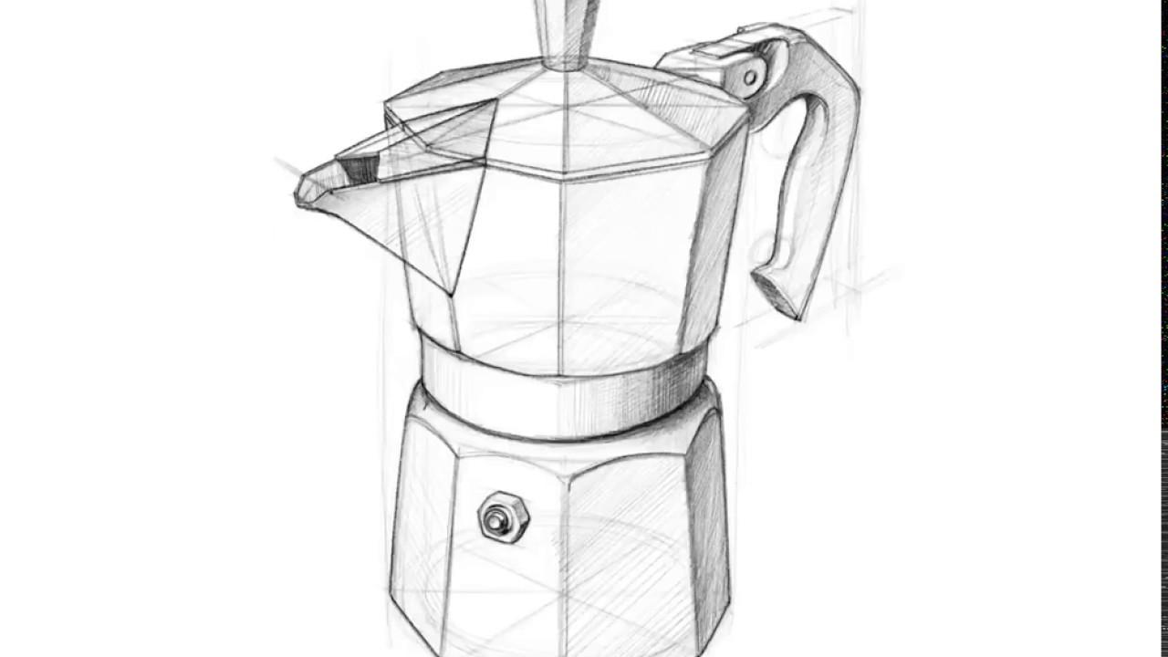 Bialetti Moka Express Sketch