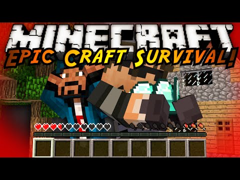 Minecraft Modded EPIC CRAFT : THE ROAD TO DIAMONDS