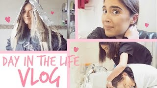 VLOG | EAR PIERCINGS + HAIR DYING! | Sophia and Cinzia