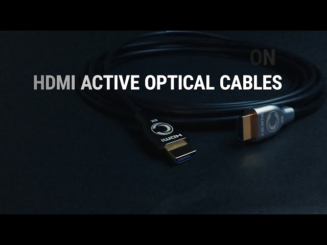 Deliver The Full Picture: 8K Ultra High Definition HDMI Active Optical Cables by Cleerline SSF™