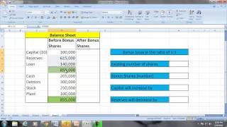 Accounting Dictionary_Bonus Shares