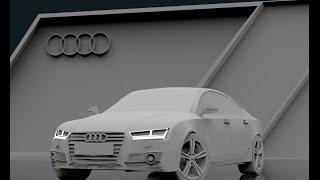 Blender 3D   Audi A7   Part 1