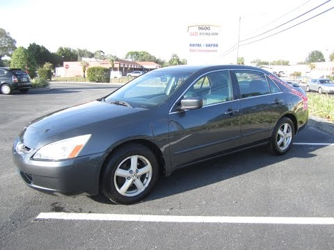 SOLD 2004 Honda Accord EX 99K Miles SULEV IVTEC Meticulous Motors Inc Florida For Sale