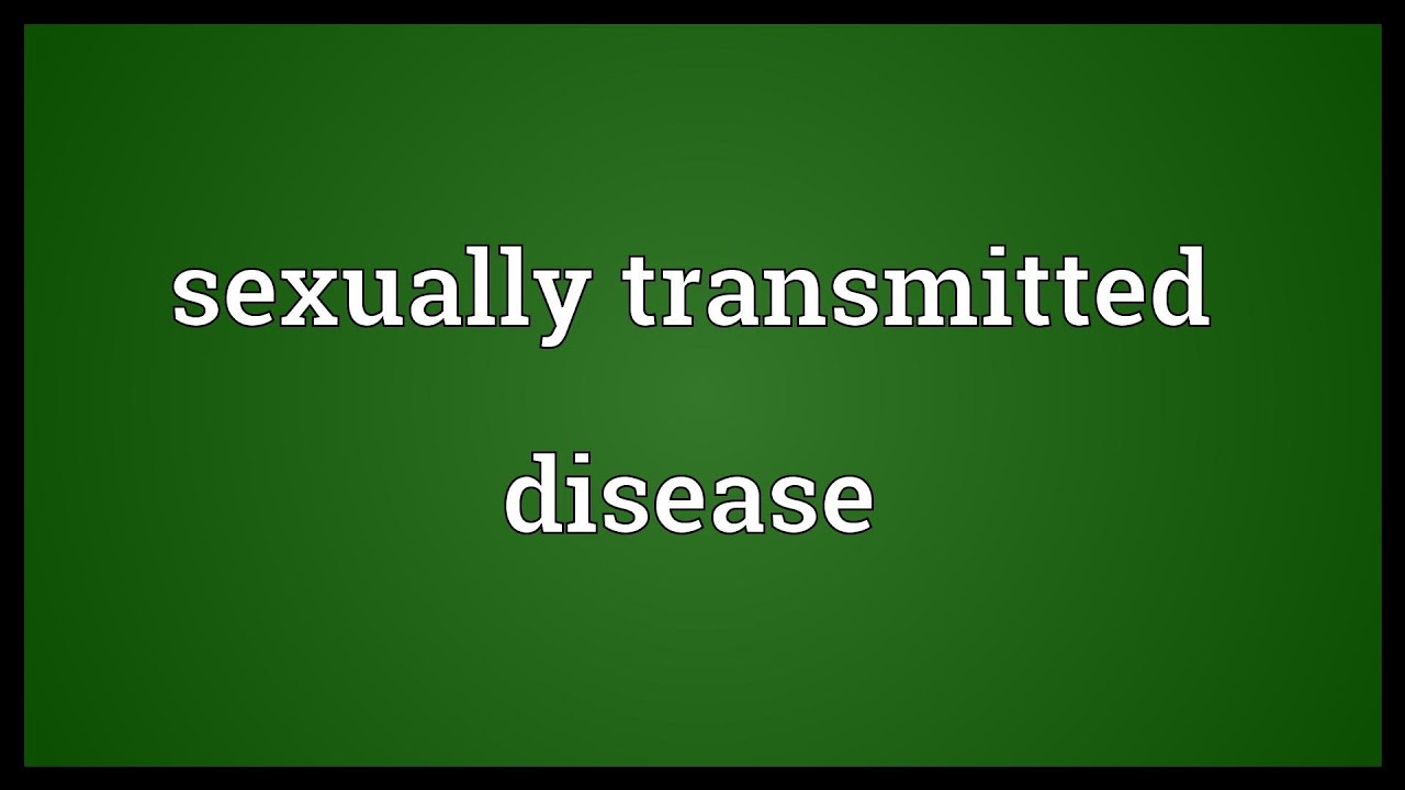Sexual transmitted disease meaning