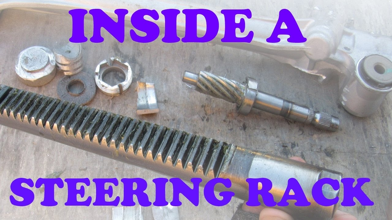 How An Electric Steering Rack Works Youtube