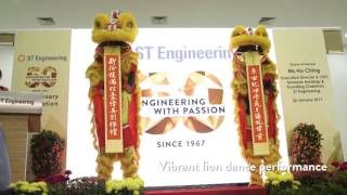 ST Engineering 50th Anniversary Launch Event Highlights