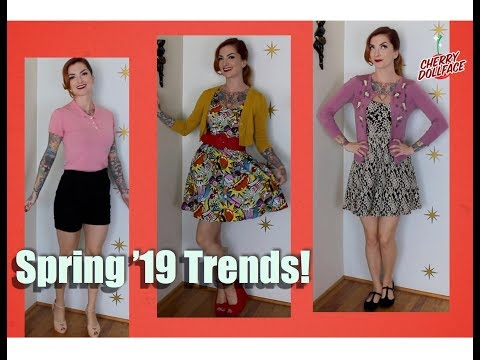 Spring 2019 Trends: My Vintage Spin! by CHERRY DOLLFACE