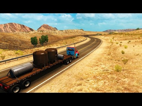 American Truck Simulator - HELLO NEVADA! - ATS / American Truck Simulator Gameplay & Highlights