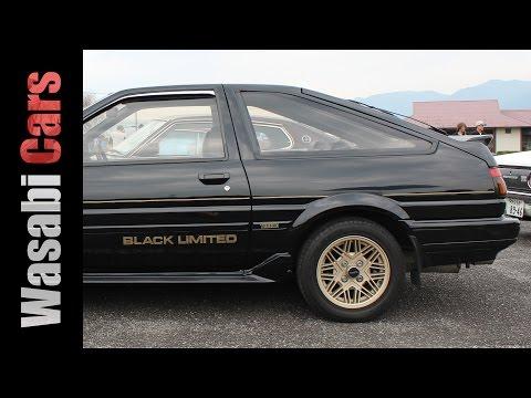Black Limited: 1986 Toyota Sprinter Trueno 1600 GT-APEX (1 of 400)