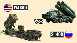 S-400 Vs Patriot - Russian S-400 & US Patriot PAC-3 Missile Defense System Comparison (Hindi)