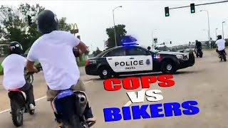 Cops vs Bikers 2018 | Chases, Pullovers & Angry People