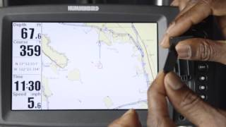 Navionics Humminbird Loading a Navionics Card