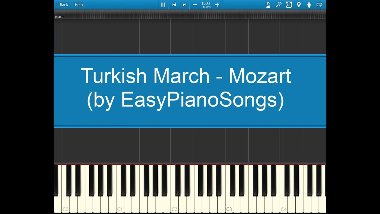 Download Turkish March Music Midi