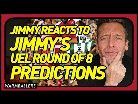 REACTING TO MY 2018 EUROPA LEAGUE QUARTERFINALS PREDICTIONS!!!