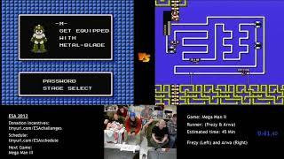 European Speedster Assembly 2012 - Mega Man 2 race Frezy_Man vs. Arva (Part 1)