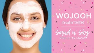 Wojooh Tried n' Tested - Sand n' Sky, Pink Clay Mask