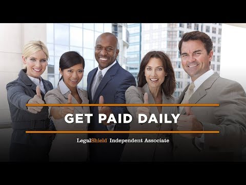 Get Paid Daily - LegalShield Corporate Overview