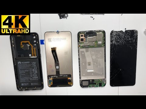 Huawei P Smart 2019 (POT-LX1) - разборка, замена экрана / Disassembly LCD Replacement