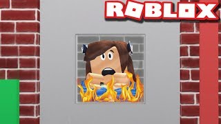 TRAPPED IN AN OVEN in ROBLOX | Bakers Valley | Funny Moments