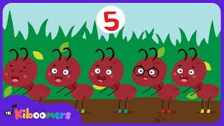 The Ants Go Marching One by One Song | Rhymes for Children | Baby Songs | The Kiboomers
