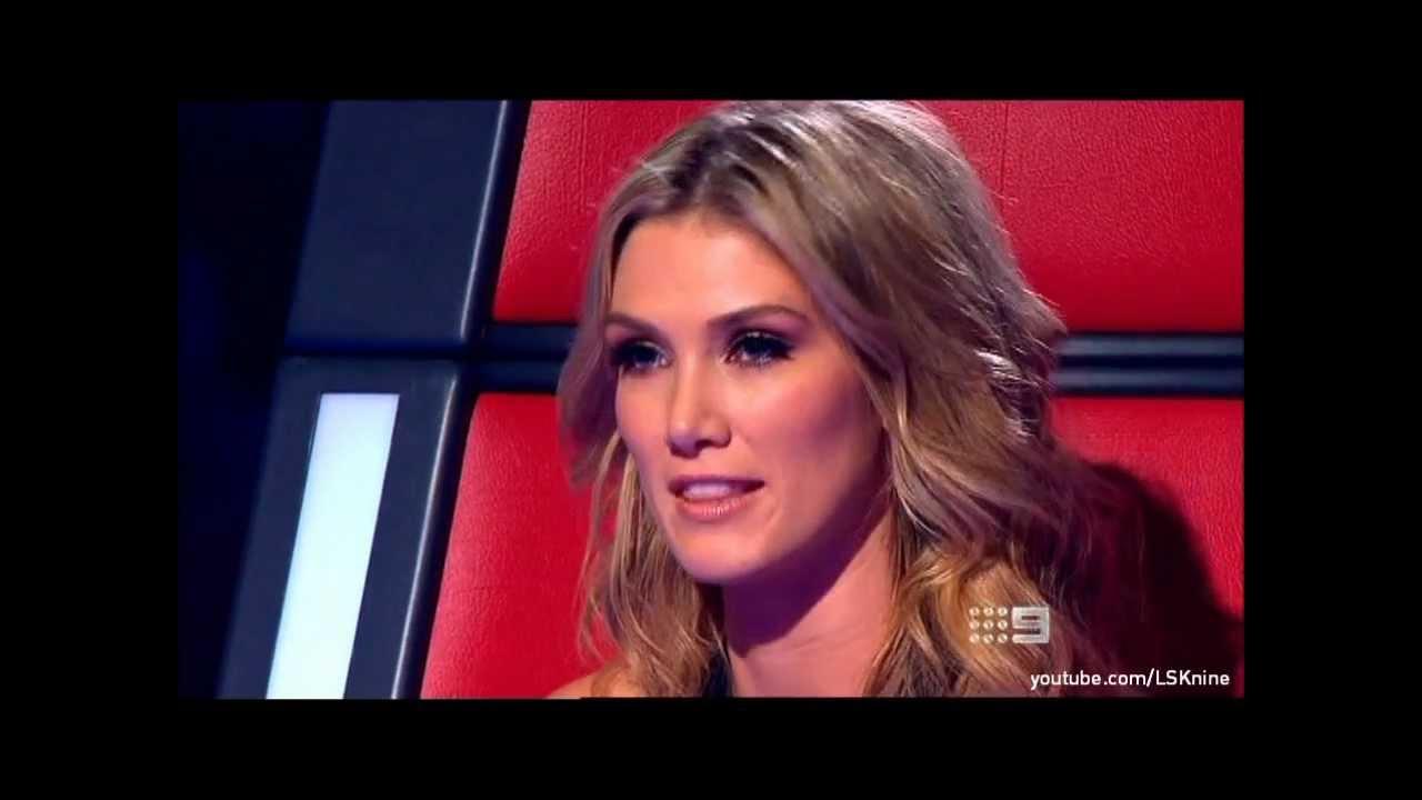 The Voice Australia 2012: Delta Goodrem #2