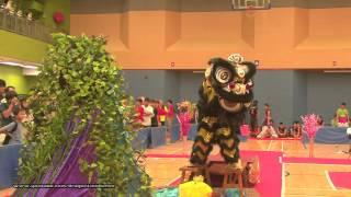 第21屆全港公開學界龍獅藝錦標賽:中學獅藝地青組 - (5)
